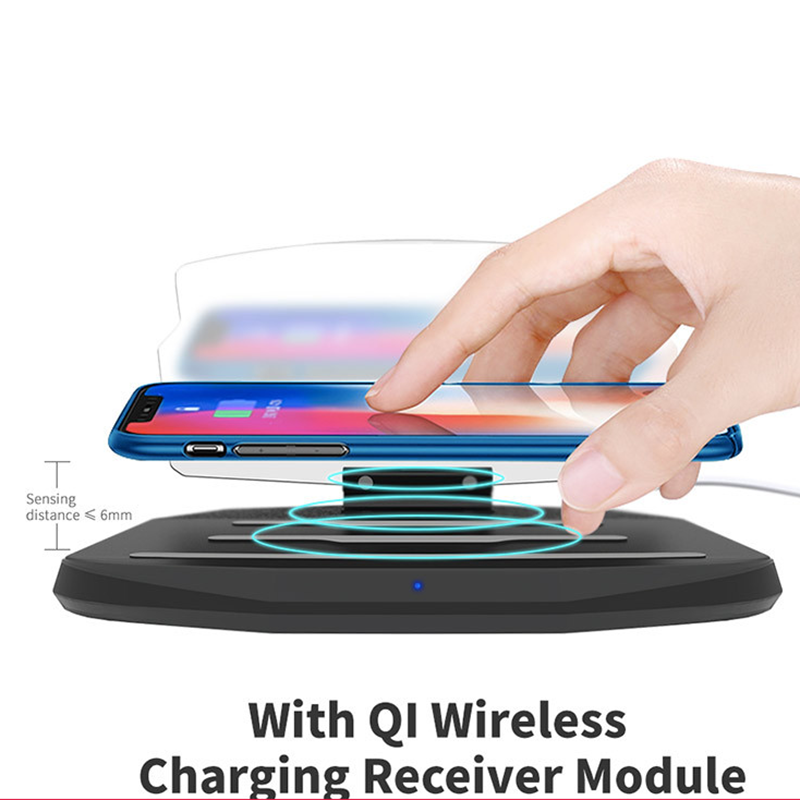 HUD Car Phone Wireless Charger Holder