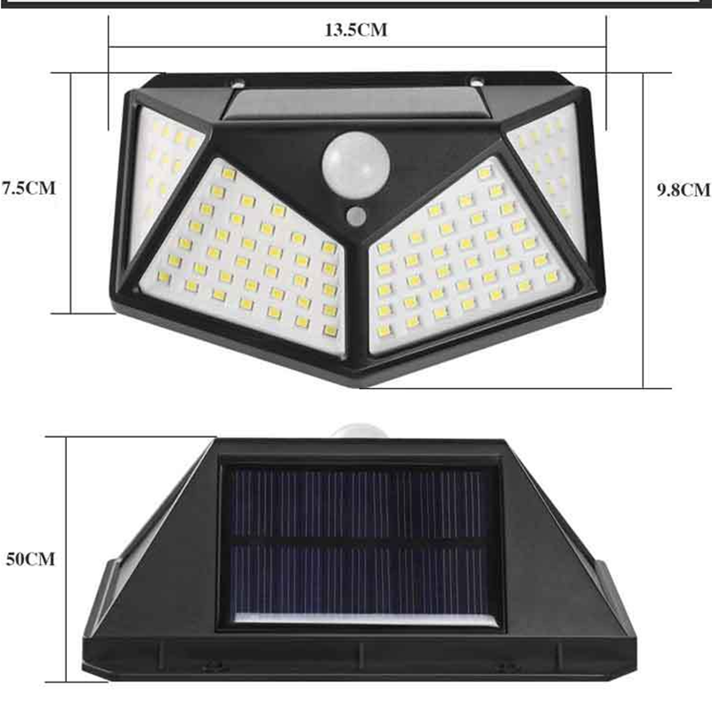 Wall Solar Outdoor Sensor Light