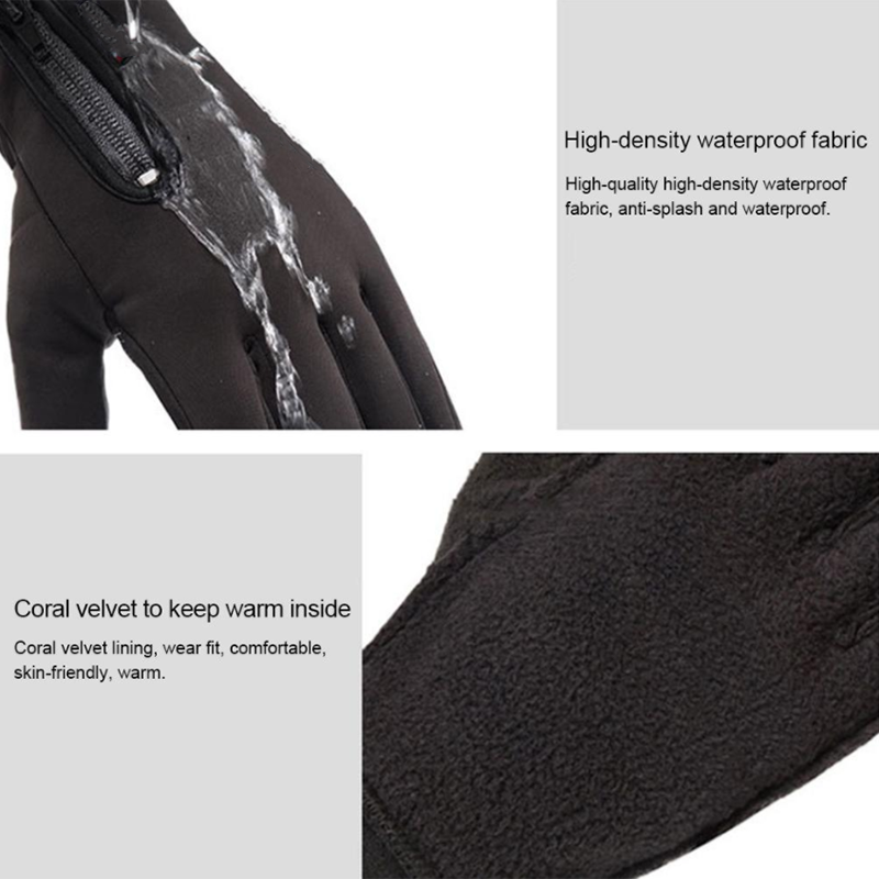 Winter Warm Cycling Touch Screen Gloves