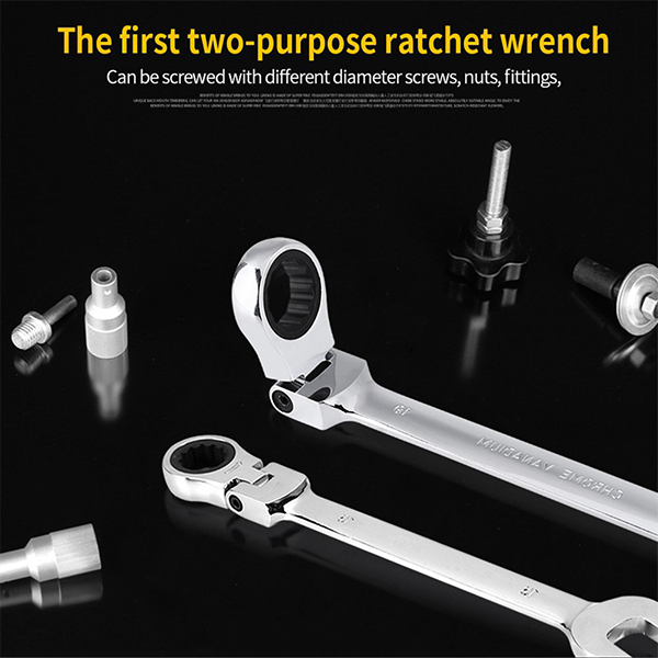 Car Repair Tool Set Multi-Purpose Wrenches Socket