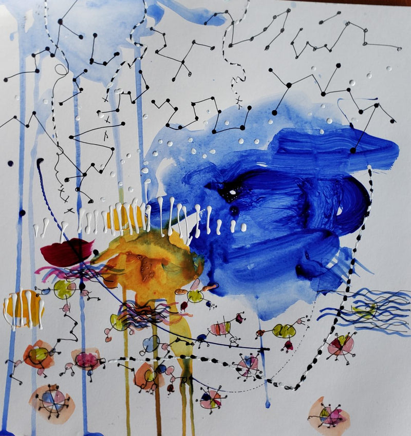 Big Water Big Sky Constellations by Christine Alfery
