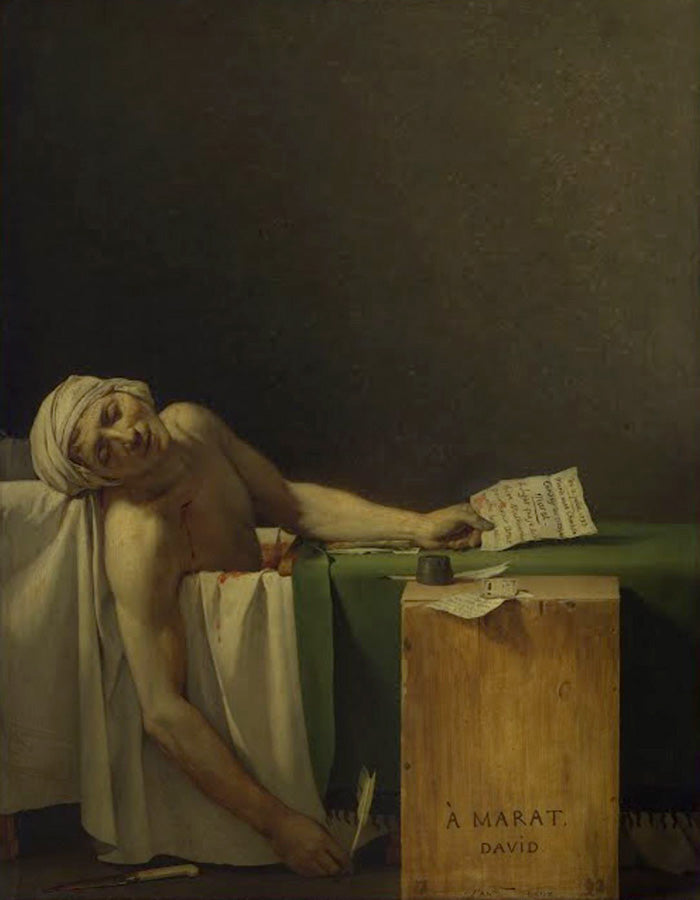 "Blog: ""Death of Marat"""