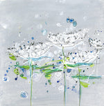 Water media painting,  Queen Anne's Lace  by Christine Alfery