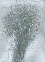 Water media painting, Baby's Breath by Christine Alfery