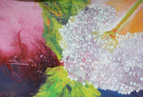 Water media painting, Hydrangea III by Christine Alfery
