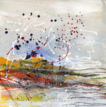 Water media painting, Swarm II by Christine Alfery