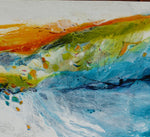 Water media painting, Sweet Sweet Surrender, The Spirit of the Land, The Flow of the Water by Christine Alfery