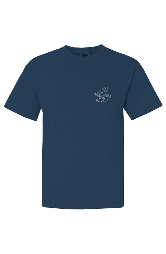 the night sky midnight short sleeve