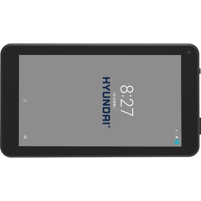 "Hyundai Koral 7W3 Tablet - 7"" - 1 GB - 8 GB - Android 7.0 Nougat - 1024 x 600 - In-plane Switching (IPS) Technology - Black - HT0703W08A"