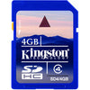 Kingston 4GB Secure Digital High Capacity Card (Class 4)
