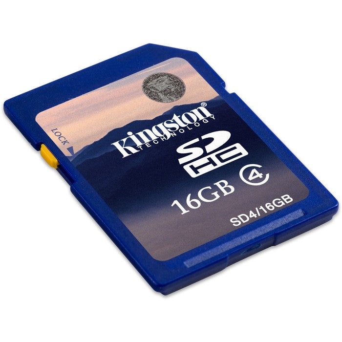 Kingston 16GB Secure Digital High Capacity (SDHC) Card - Class 4