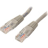 StarTech.com 15 ft Gray Molded Cat5e UTP Patch Cable