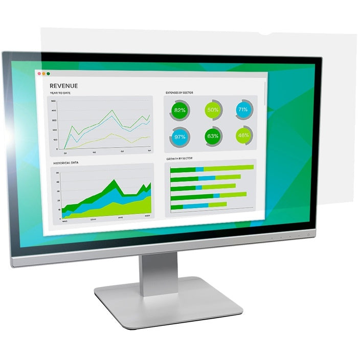 "3M Anti-Glare Filter for 24"" Widescreen Monitor"
