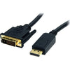 4XEM 10FT DisplayPort To DVI-D Dual Link M/M Cable