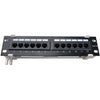 4XEM 4XEM 12 Port CAT5E Wall Mount Patch Panel
