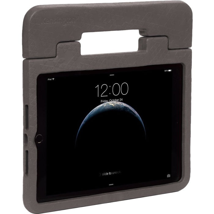Kensington SafeGrip Carrying Case for iPad (2017 & 2018) - Charcoal