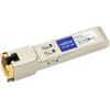 AddOn IBM 00FE333 Compatible TAA Compliant 10/100/1000Base-TX SFP Transceiver (Copper, 100m, RJ-45)