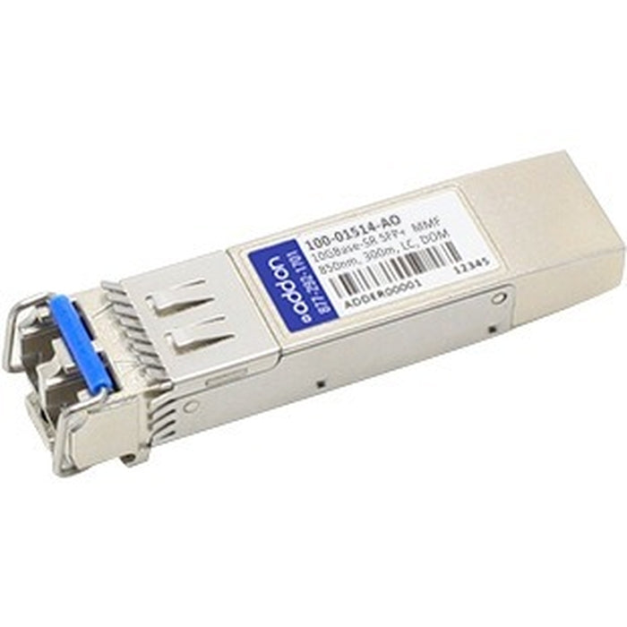 AddOn Calix 100-01514 Compatible TAA Compliant 10GBase-SR SFP+ Transceiver (MMF, 850nm, 300m, LC, DOM, Rugged)