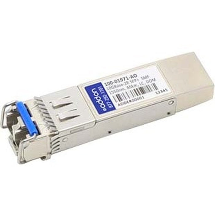 AddOn Calix 100-01971 Compatible TAA Compliant 10GBase-ZR SFP+ Transceiver (SMF, 1550nm, 80km, LC, DOM)
