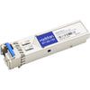 AddOn Alcatel-Lucent 3HE08314BA Compatible TAA Compliant 1000Base-BX 2-Channel SFP Transceiver (SMF, 1490nmTx/1310nmRx, 10km, LC, DOM)
