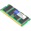 AddOn AA667D2S5/2GB x1 HP 406728-001 Compatible 2GB DDR2-667MHz Unbuffered Dual Rank 1.8V 200-pin CL5 SODIMM