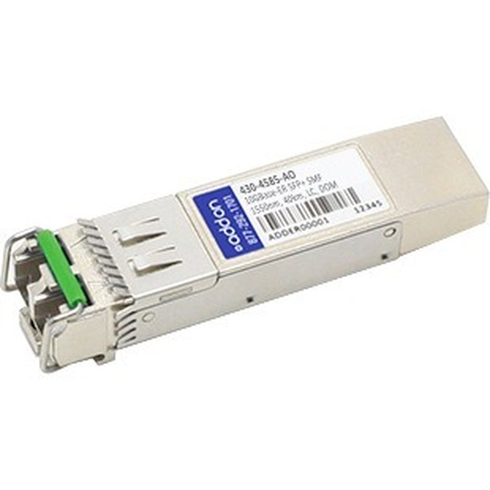 AddOn Dell 430-4585 Compatible TAA Compliant 10GBase-ER SFP+ Transceiver (SMF, 1550nm, 40km, LC, DOM)