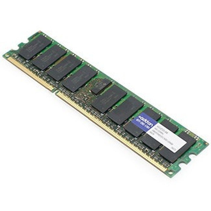 AddOn AM1333D3DRE/4G x1 Dell A3132552 Compatible Factory Original 4GB DDR3-1333MHz Unbuffered ECC Dual Rank 1.5V 240-pin CL9 UDIMM