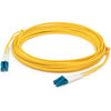 AddOn 12m LC (Male) to LC (Male) Yellow OS1 Duplex Fiber OFNR (Riser-Rated) Patch Cable