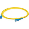 AddOn 2m SC (Male) to SC (Male) Yellow OS1 Simplex Fiber OFNR (Riser-Rated) Patch Cable