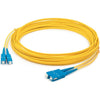 AddOn 40m SC (Male) to SC (Male) Yellow OS1 Duplex Fiber OFNR (Riser-Rated) Patch Cable