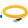 AddOn 2m LC (Male) to ST (Male) Yellow OS1 Duplex Fiber OFNR (Riser-Rated) Patch Cable