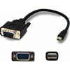 AddOn 3ft Mini-DisplayPort Male to VGA Male Black Adapter Cable