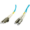 Axiom LC/LC Multimode Duplex OM4 50/125 Fiber Optic Cable 9m