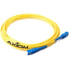 Axiom LC/ST Singlemode Simplex OS2 9/125 Fiber Optic Cable 8m