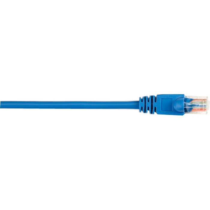 Black Box CAT5e Value Line Patch Cable, Stranded, Blue, 10-Ft. (3.0-m), 25-Pack