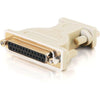 C2G DB9 Female to DB25 Female Null Modem Adapter