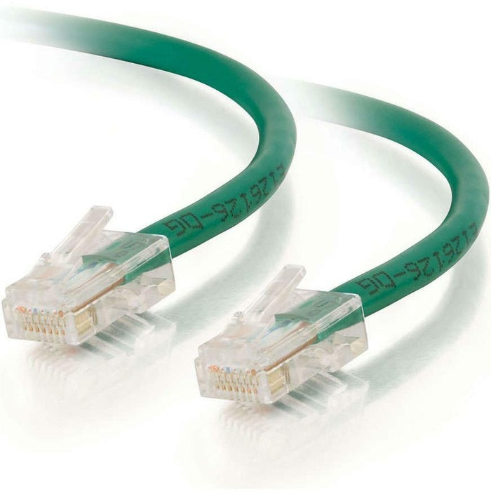 C2G-14ft Cat5e Non-Booted Unshielded (UTP) Network Patch Cable - Green