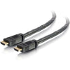 C2G 40ft HDMI Cable with Gripping Connectors - Plenum CL2P-Rated