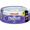 Maxell 16x DVD+R Media. - 4.7GB - 15 Pack 15 SPINDLE