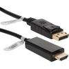 QVS 10ft DisplayPort to HDMI Digital A/V Cable