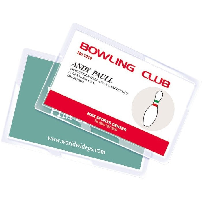 "Royal Sovereign laminating pouch film - Business Card Size 2-1/4"" x 3"" - 5mil - 100 pack"