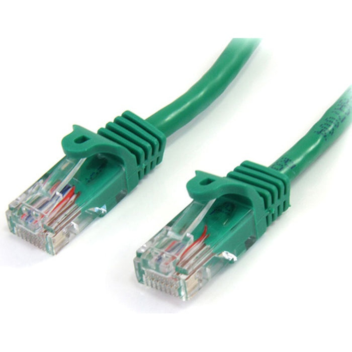 StarTech.com 25 ft Cat5e Green Snagless RJ45 UTP Cat 5e Patch Cable - 25ft Patch Cord