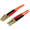 StarTech.com 1m Fiber Optic Cable - Multimode Duplex 50/125 - LSZH - LC/LC - OM2 - LC to LC Fiber Patch Cable
