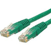 StarTech.com 35 ft Cat 6 Green Molded RJ45 UTP Gigabit Cat6 Patch Cable - 35ft Patch Cord