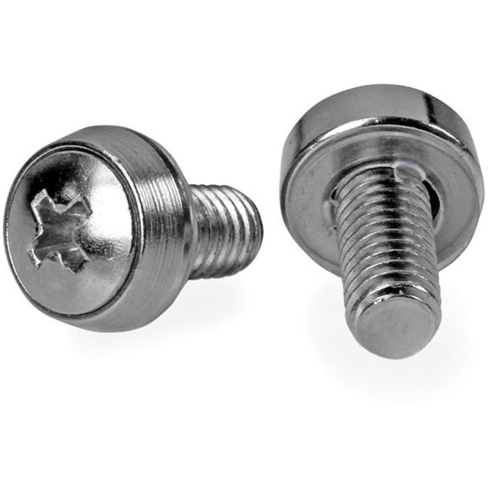 StarTech.com 50 Pkg M6 Mounting Screws for Server Rack Cabinet
