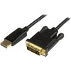 StarTech.com DisplayPort to DVI Converter Cable - DP to DVI Adapter - 3ft - 1920x1200