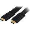 StarTech.com 25 ft Flat High Speed HDMI Cable with Ethernet - Ultra HD 4k x 2k HDMI Cable - HDMI to HDMI M/M