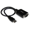 StarTech.com 1 ft USB to Serial Adapter Cable w/ COM Retention