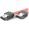 StarTech.com 8in Latching SATA to SATA Cable - F/F