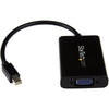 StarTech.com Mini DisplayPort to VGA Adapter with Audio - Mini DP to VGA Converter - 1920x1200